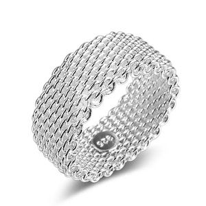 Jewelry - NEW! Sterling Silver Mesh Ring